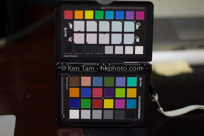 Pentax K-3 Camera profile target
