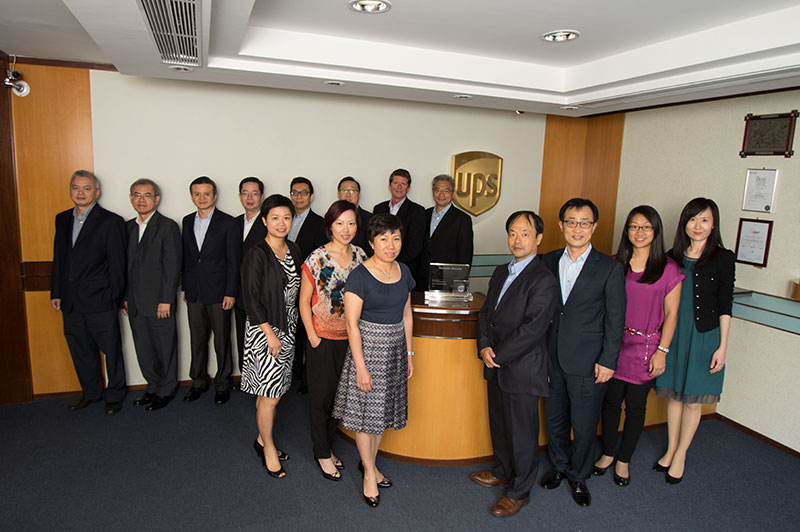 UPS Group Photograph by staff photog